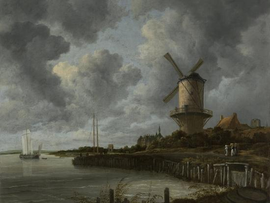 The Windmill at Wijk Duurstede, C.1668-70-Jacob Isaaksz Ruisdael-Giclee Print