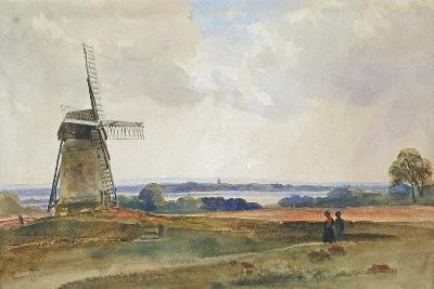 The Windmill, C.1840-Peter De Wint-Giclee Print