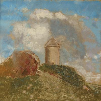 The Windmill, C.1880-Odilon Redon-Giclee Print