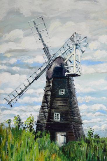 The Windmill-Joan Thewsey-Giclee Print