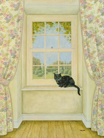 The Window Cat-Ditz-Giclee Print
