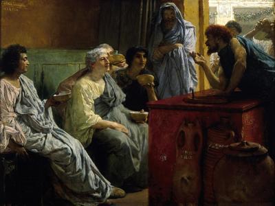The Wine Shop, 1869-1874-Lawrence Alma-Tadema-Giclee Print