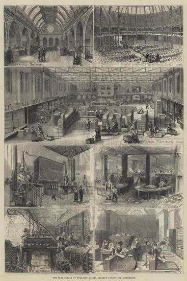The Wine Supply of England, Messers Gilbey's London Establishments--Giclee Print