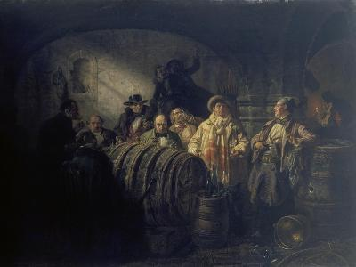 The Winetasting, 1853-Johann Peter Hasenclever-Giclee Print