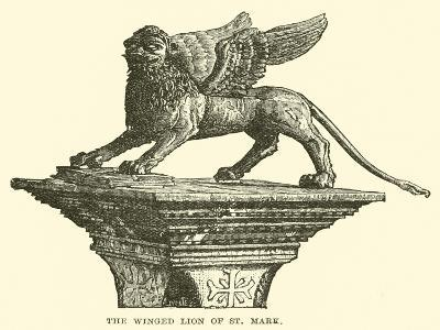 The Winged Lion of St Mark--Giclee Print