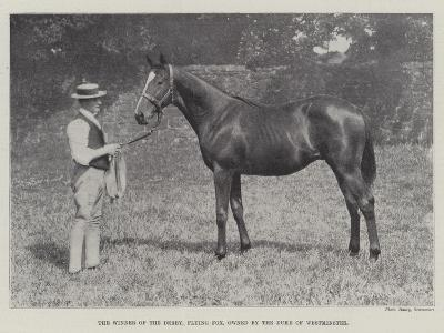 The Winner of the Derby, Flying Fox, Owned by the Duke of Westminster--Giclee Print