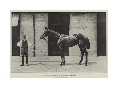 The Winner of the Derby, Lord Rosebery's Sir Visto--Giclee Print