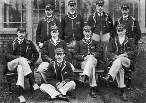 The Winning Oxford Boat Race Crew, 1896