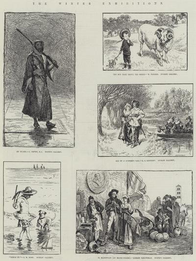The Winter Exhibitions-John Pettie-Giclee Print