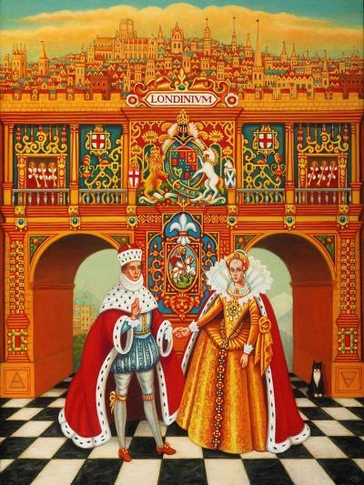 The Winter King and Queen, 2010-Frances Broomfield-Giclee Print
