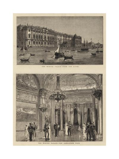 The Winter Palace--Giclee Print