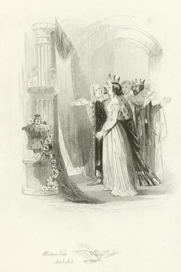 The Winter's Tale-Joseph Kenny Meadows-Giclee Print