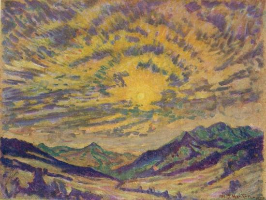 The Winter Sun, c1885-1925, (1925)-Unknown-Giclee Print