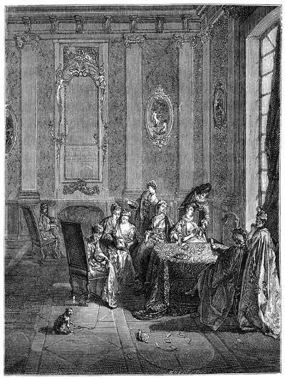 The Winter- Lancret-Giclee Print