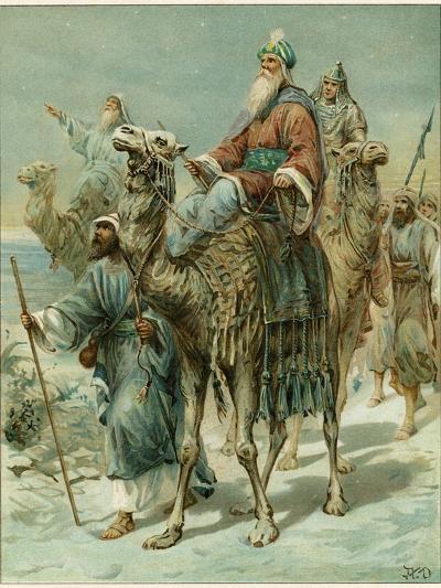The Wise Men Seeking Jesus-Ambrose Dudley-Giclee Print