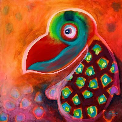 The Wise Parrot-Susse Volander-Art Print