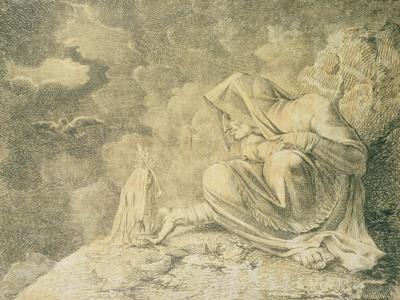 Henry Fuseli The Witch and the Mandrake Vintage Print