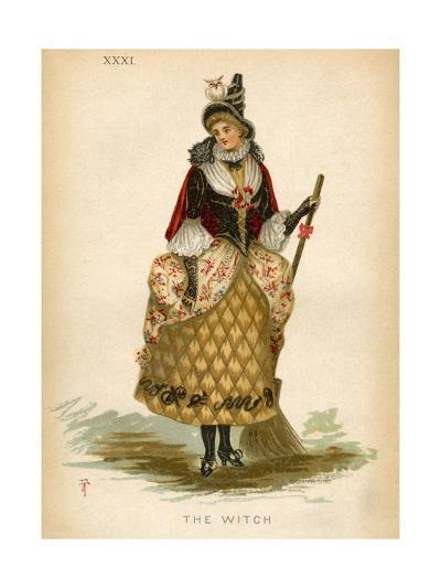 The Witch, Fancy Dress-E Meyerstein-Giclee Print