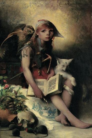 The Witch's Daughter, 1881-Carl Larsson-Giclee Print