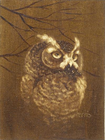The Witness-Peggy Harris-Giclee Print