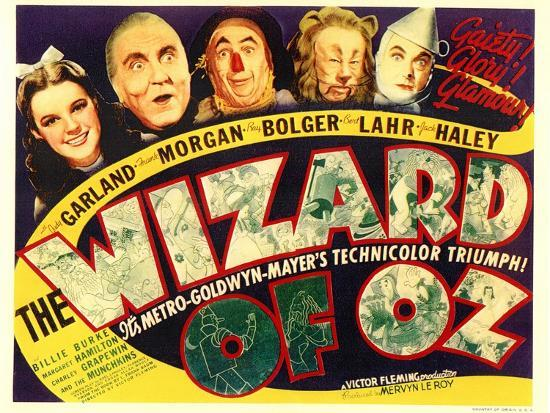 The Wizard of Oz, 1939--Art Print