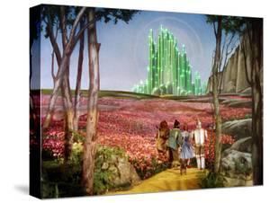 The Wizard of Oz, Bert Lahr, Ray Bolger, Judy Garland, Jack Haley, 1939