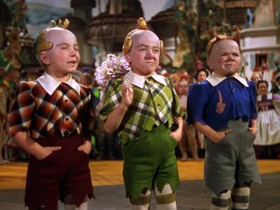 The Wizard of Oz, from Left: Jerry Maren, Harry Earles, 1939