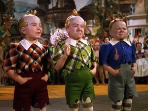 The Wizard of Oz, from Left: Jerry Maren, Harry Earles, 1939