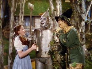 The Wizard of Oz, from Left: Judy Garland, Jack Haley, Ray Bolger, 1939