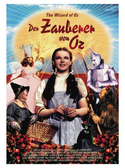 The Wizard of Oz, German Movie Poster, 1939--Art Print