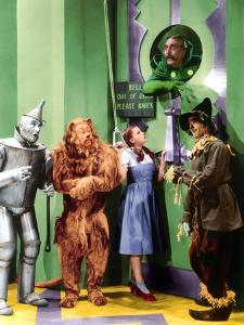 The Wizard of Oz, Jack Haley, Bert Lahr, Judy Garland, Frank Morgan, Ray Bolger, 1939