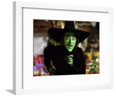 The Wizard of Oz, Margaret Hamilton, 1939--Framed Photo