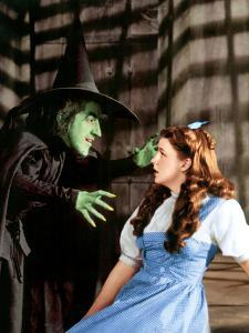The Wizard of Oz, Margaret Hamilton, Judy Garland, 1939