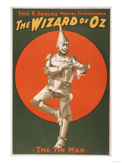 """The Wizard of Oz"" Musical Theatre Poster No.2-Lantern Press-Art Print"