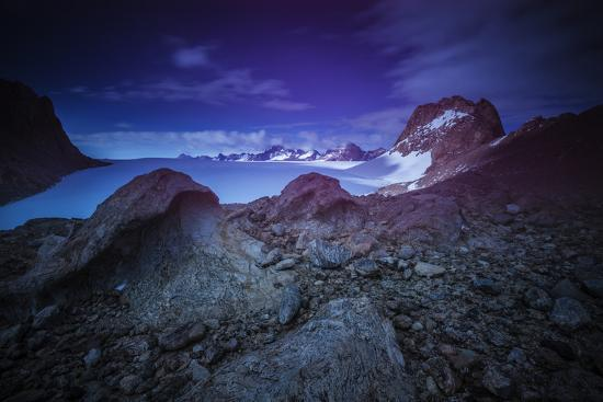 The Wohlthat Mountains in Antarctica's Queen Maud Land-Keith Ladzinski-Photographic Print