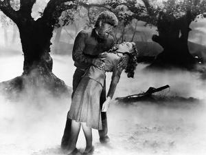 The Wolf Man, Lon Chaney Jr., Evelyn Ankers, 1941