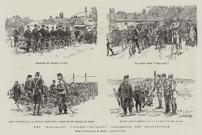 The Wolseley Cyclist-Infantry Challenge Cup Competition--Giclee Print
