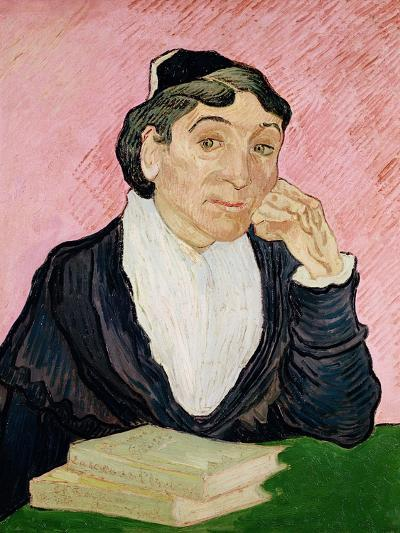 The Woman from Arles-Vincent van Gogh-Giclee Print
