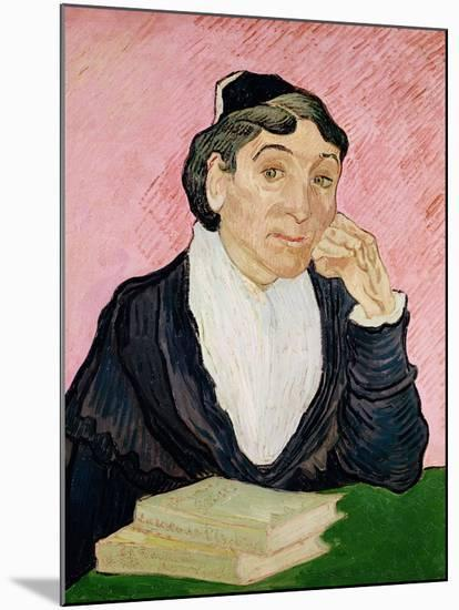 The Woman from Arles-Vincent van Gogh-Mounted Giclee Print