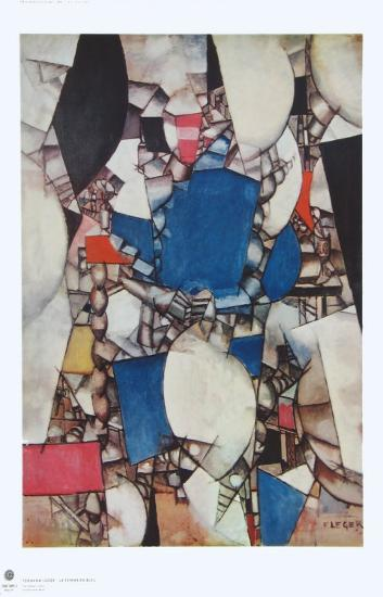 The Woman in Blue-Fernand Leger-Collectable Print