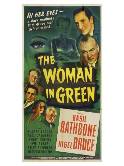 The Woman in Green, 1945--Art Print