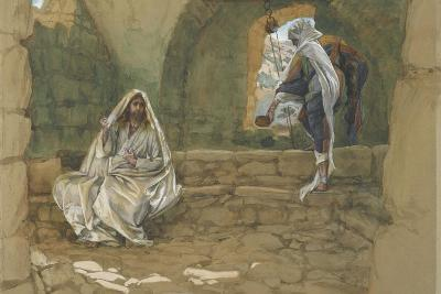 The Woman of Samaria at the Well from 'The Life of Our Lord Jesus Christ'-James Jacques Joseph Tissot-Giclee Print