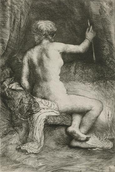 The Woman with the Arrow, 1661-Rembrandt van Rijn-Giclee Print