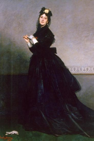 The Woman with the Glove, 1869-Charles Emile Auguste Carolus-Duran-Giclee Print