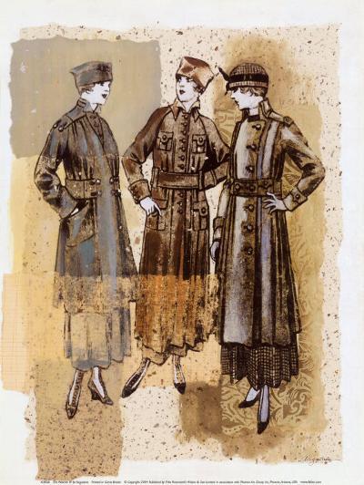 The Women IV-Augustine (Joseph Grassia)-Art Print