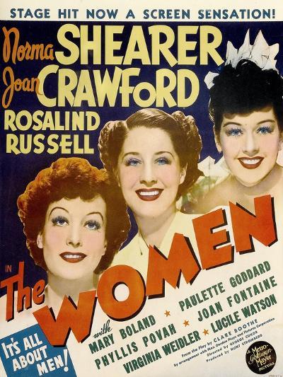 The Women, Joan Crawford, Norma Shearer, Rosalind Russell, 1939--Art Print