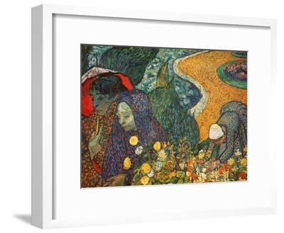 The Women of Arles (Memories of the Garden at Etten), 1888-Vincent van Gogh-Framed Giclee Print