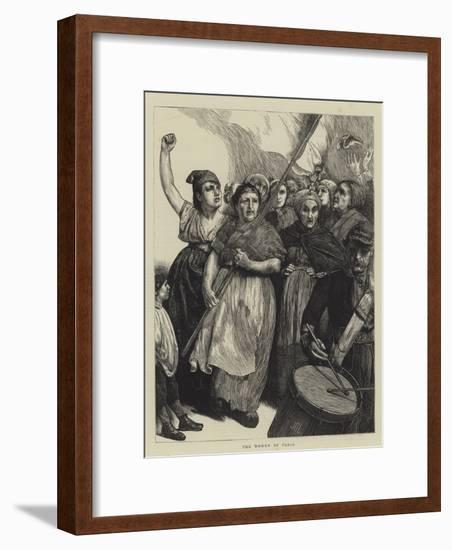 The Women of Paris-Sir James Dromgole Linton-Framed Giclee Print
