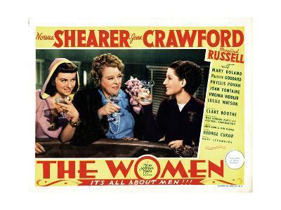 The Women, Paulette Goddard, Mary Boland, Norma Shearer, 1939--Giclee Print