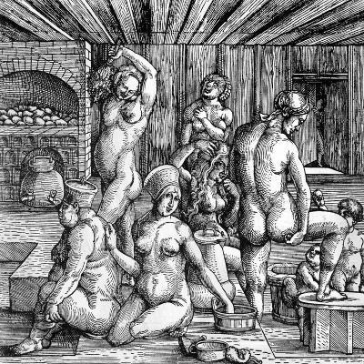 The Women's Bath-Albrecht D?rer-Giclee Print
